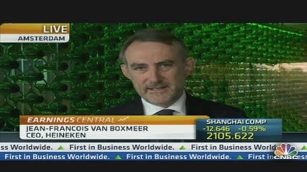 Heineken Sees Flat 2012 Earnings After H1 Decline