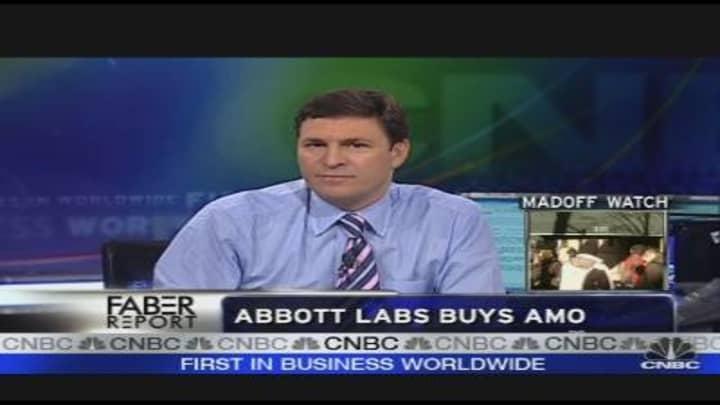 Abbott Labs Buys AMO