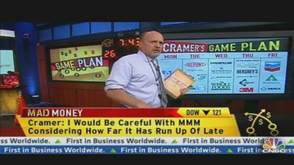 Cramer Focuses on Earnings