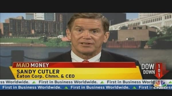 Eaton CEO: Earnings, China & Cooper Merger