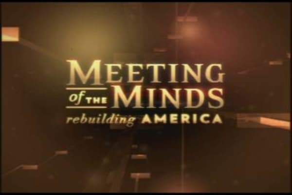 Meeting of the Minds: Rebuilding America