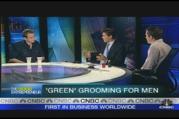 'Green' Grooming for Men