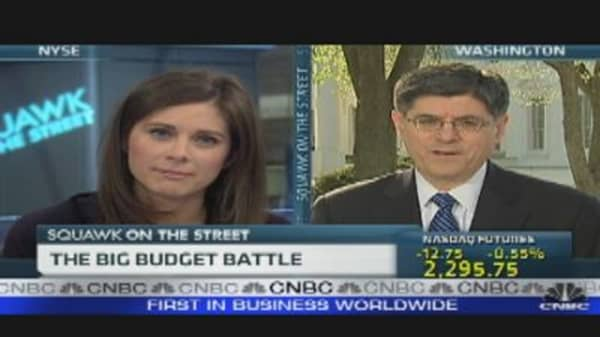 OMB's Jack Lew Speaks