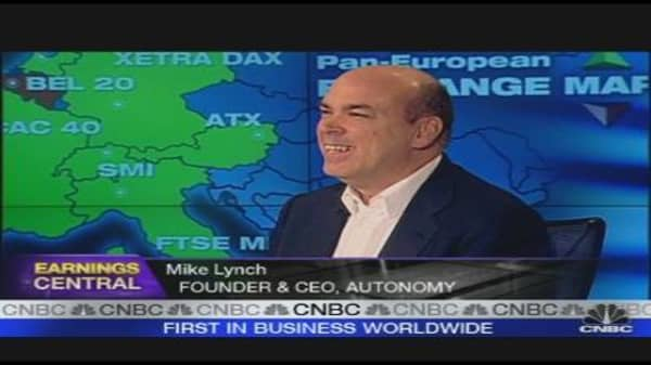 Autonomy Earnings In Line, Confident on Year