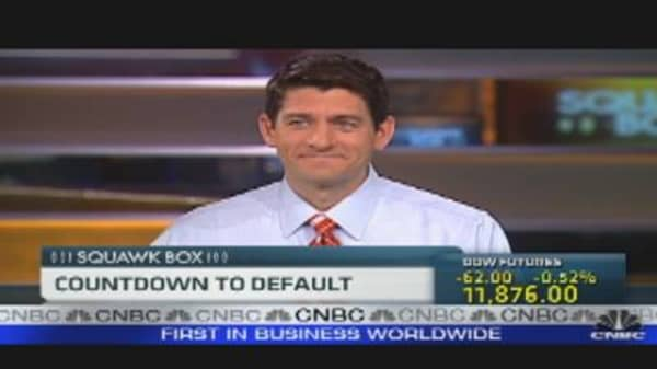 Rep. Ryan: Countdown to Default