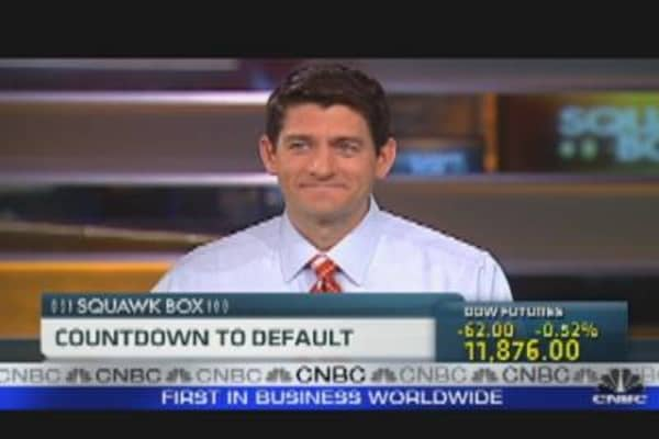 Rep. Ryan: Countdown to Default