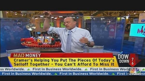 Cramer: Panic Is Not a Strategy