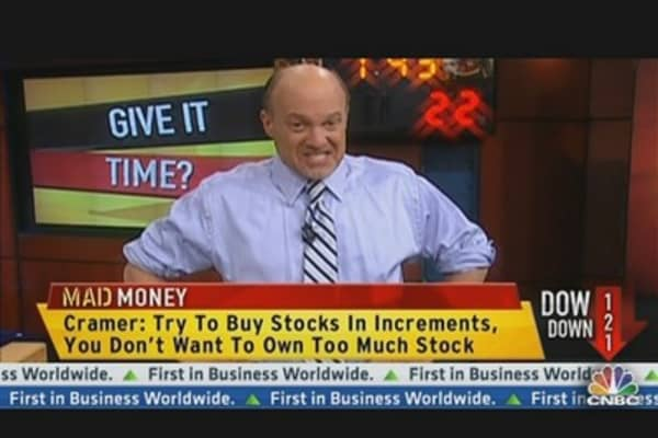 Cramer: Resist the Urge to Sell Everything At Once
