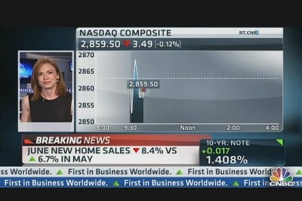 New Home Sales Down 8.4%