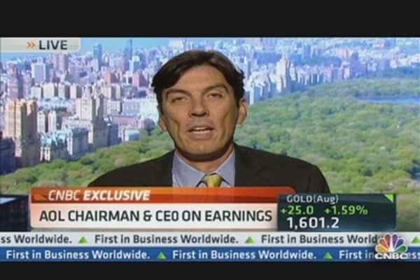 AOL Chairman & CEO on Earnings