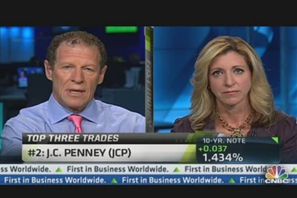 JC Penney Gives Back Some of 'Nina Garcia' Gains