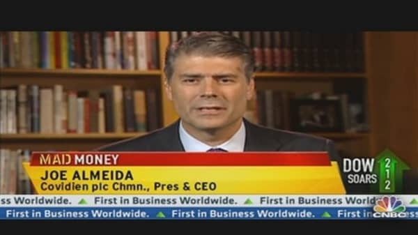 Covidien CEO on Earnings & Obamacare