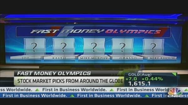 Fast Money Olympic Stock Picks