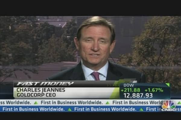 Goldcorp CEO on Lower Profits