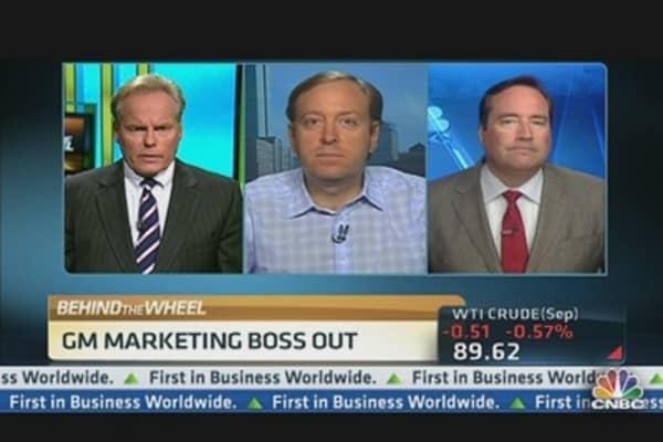 General Motors' Chief Marketing Officer Resigns