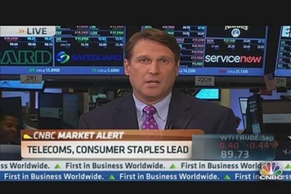 Little Momentum for Stocks