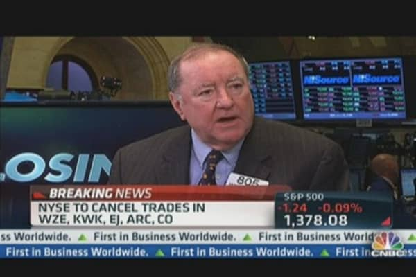 Cashin: Humans Prevented Another 'Flash Crash'