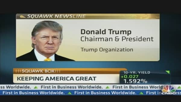 Trump on StanChart: 'It Took Me by Surprise'