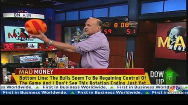 Cramer: Bulls Seem to be Regaining Control