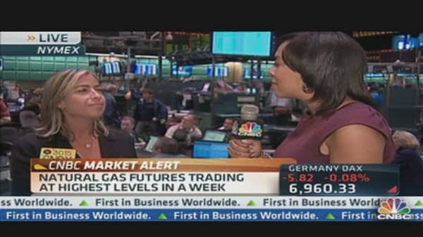 Natural Gas Prices Spike