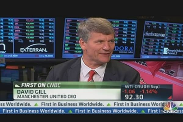 Manchester United CEO on IPO Debut