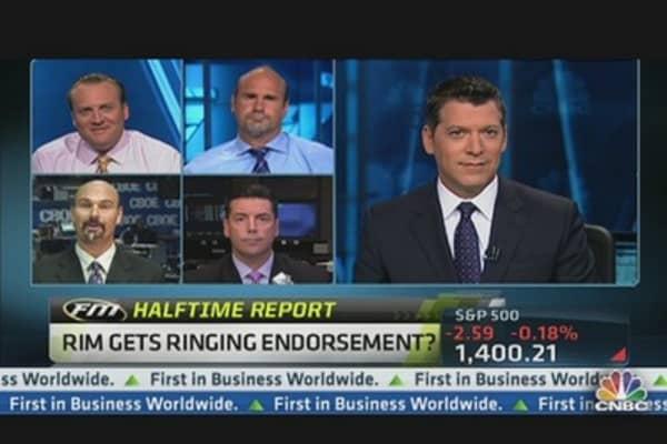 RIM Stock Surges on Rumor Mill Deal