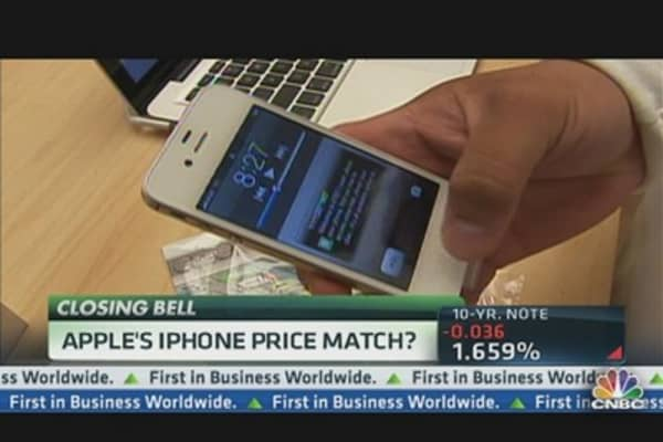 Apple's iPhone Price Match?