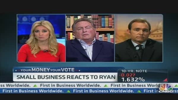 Small Business Reacts to Ryan