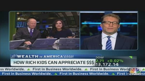 How Rich Kids Can Appreciate Money