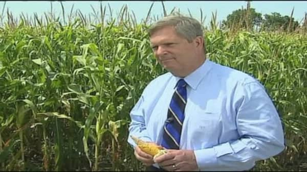 Vilsack on Drought, Genetically-Modified Crops