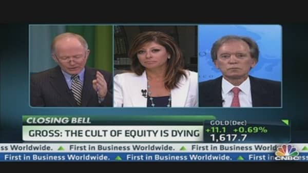 Gross: The Cult of Equity is Dying