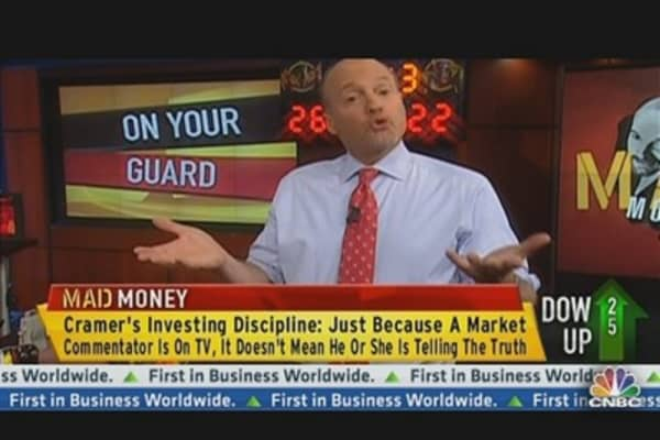 Cramer: Don't Believe Everything You Hear