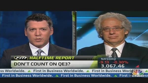 Don't Count on QE3?