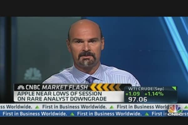 Ignore Apple Downgrade: Jon Najarian