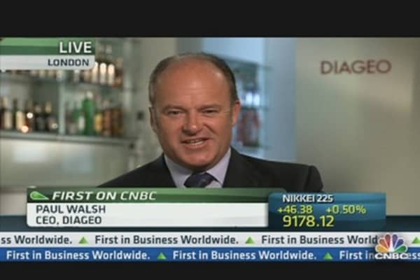 Diageo Confident as EM, US Gains Drive Profit