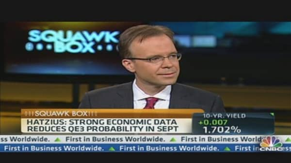 Goldman's Hatzius: QE3 Not Off the Table
