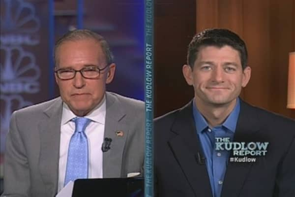 VP Candidate Paul Ryan: 'We Have a Pro-Growth Plan'