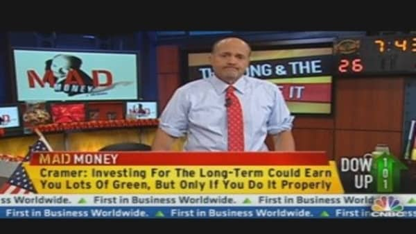Cramer's Long-Term Investment Guidance