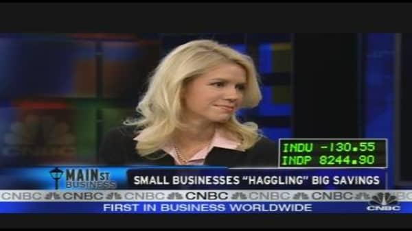Small Businesses Haggling Big Savings