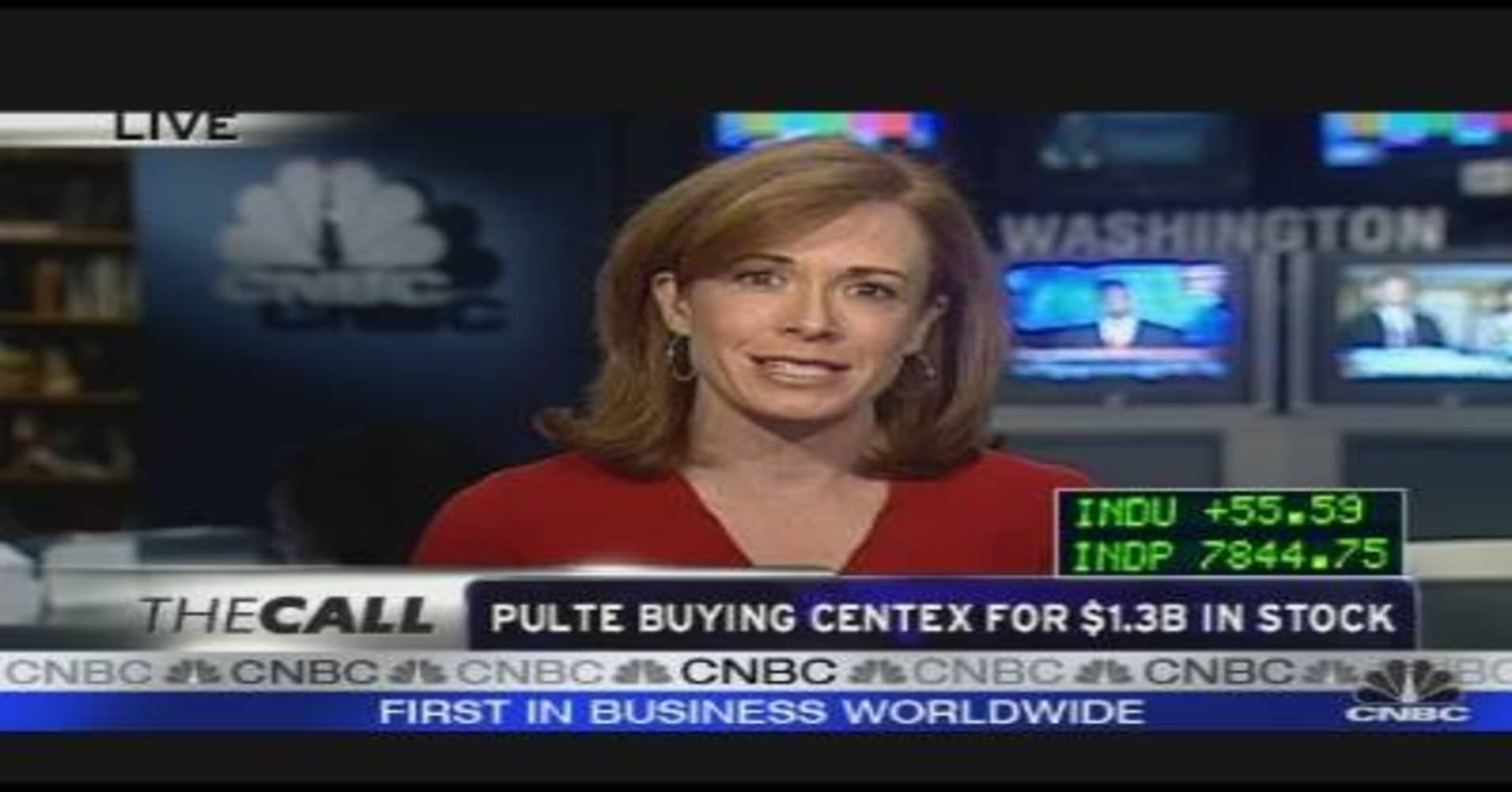 Pulte Buying Centex