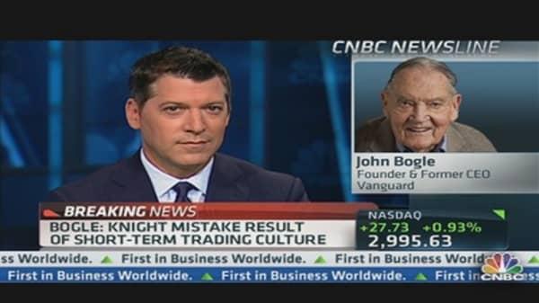 Bogle: We've Created a 'Frankenstein' of Trading