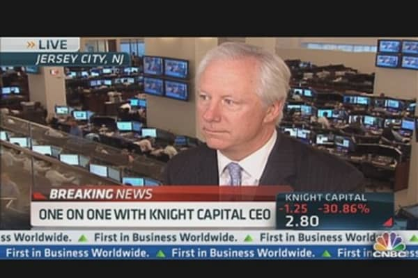 Knight Capital CEO: What Went Wrong