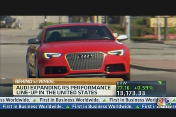 Audi Rolls Out New Sports Car