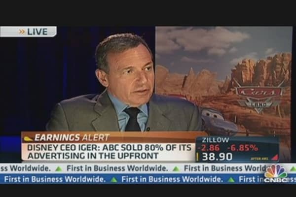 Disney's Iger Talks Earnings