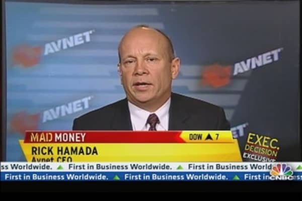 Cramer's Talking With Avnet CEO After Earnings