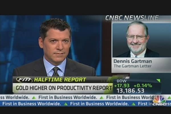 Gartman: May Eventually See 'Explosion' in Gold