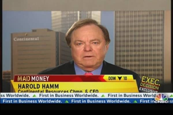 Continental Resources CEO on Romney & Natural Gas