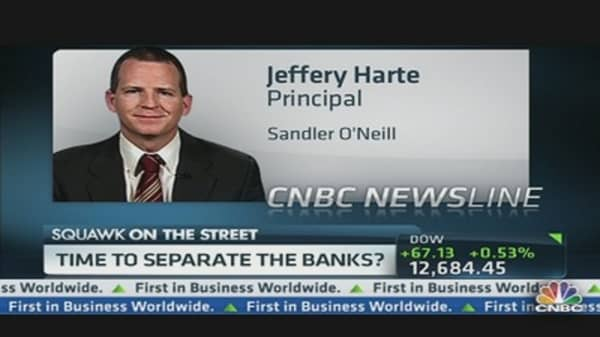 Time to Separate the Banks?