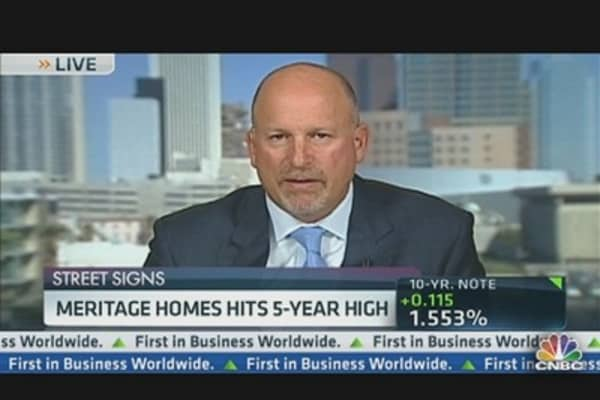 Meritage Homes Hits 5-Year High