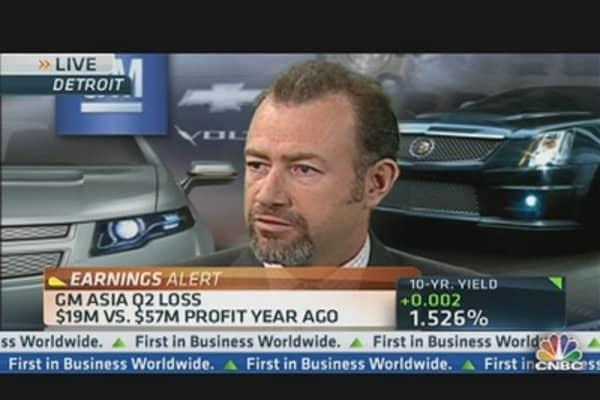 GM Beats on Earnings: $0.90 vs. $0.74 Est